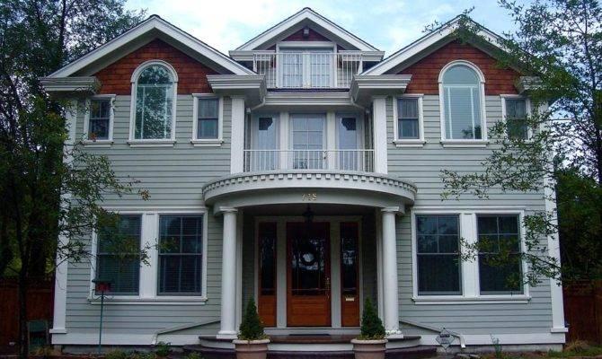 Symmetrical House