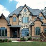 Synthetic Stone Siding New Houses Brick