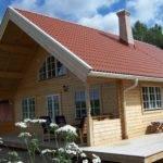 Talltoppen Jarven Chalet Homes Scandinavian Log