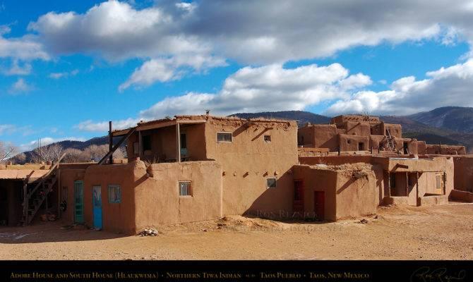 Taos Pueblo Adobe House South
