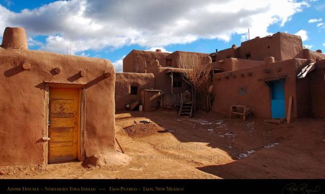 Taos Pueblo Adobe Houses