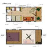 Tasteful Modern Small Houses Layout Inspiring Open