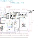 Tech Design Autocad Bungalowfloor Plan Model