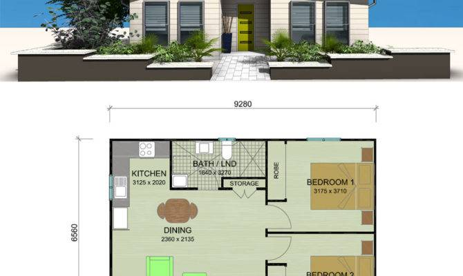 Telopea Granny Flat Designs Plans Bedroom