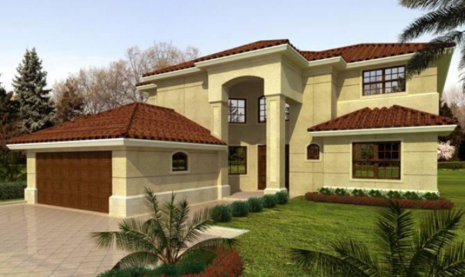 Terra Cela Santa Style Home Plan House