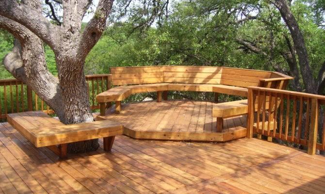 Terrace Garden Designs Amazing Wooden Backyard