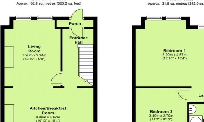 Terrace House Floor Plans Design