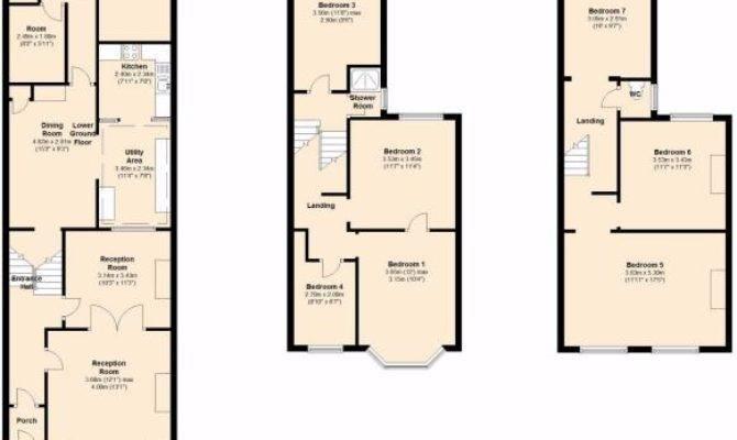 Terraced House Floor Plans Design