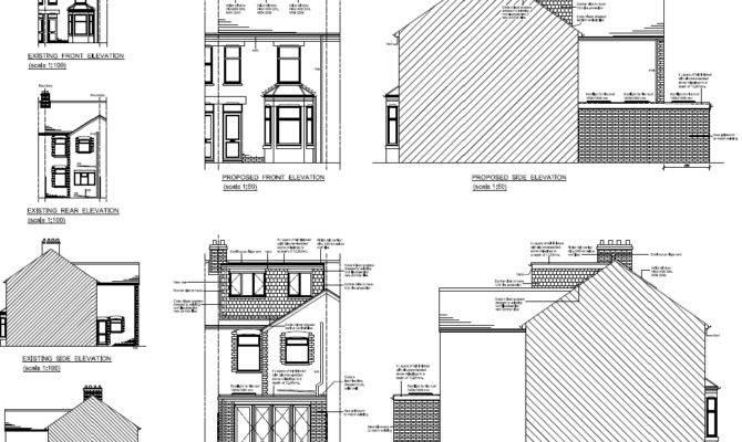 Terraced House Plans