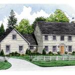 Terrebonne Colonial Style Home Plan House Plans More