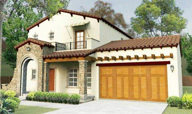 Territorial Style House Plans Single Story
