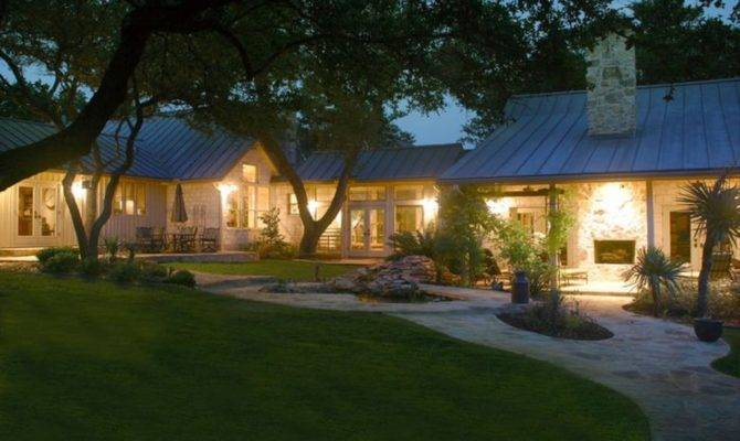 Texas Hill Country House Plans Ranch