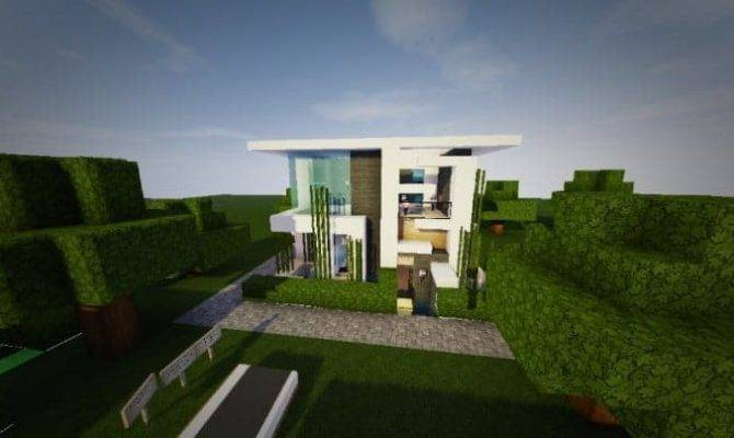 Themodern Pvper Modern House Minecraft Design
