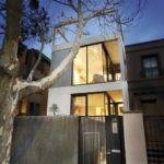 Thin Modern Townhouse Design Melbourne Digsdigs