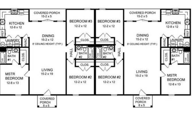 Three Bedroom Duplex Bedrooms Baths