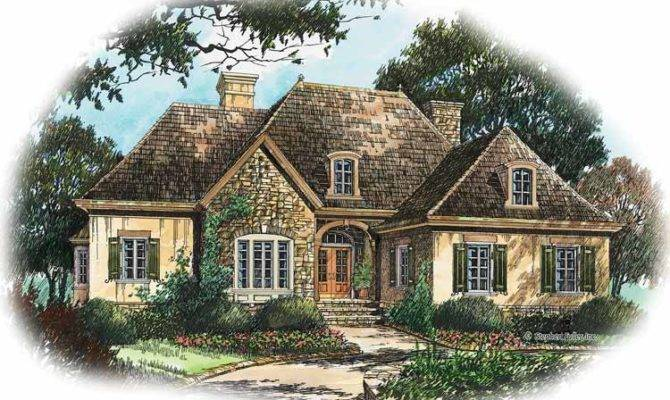 Three Bedroom French Country