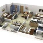 Three Bedroom House Design