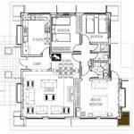 Three Bedroom House Plan Deluxe