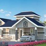 Three Bedroom Kerala Model House Plan Plans