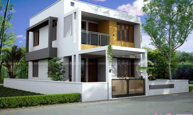 Three Bedroom Modern Style Home