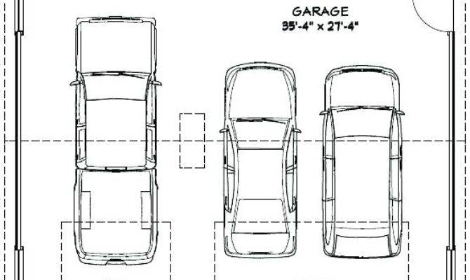 Three Car Garage Standard