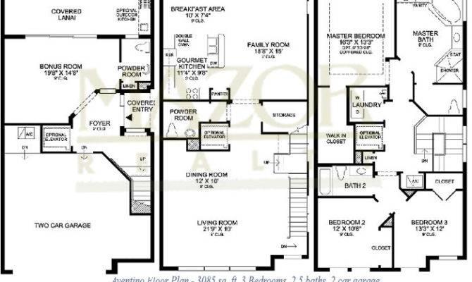 Three Story Floor Plans Ideas Home