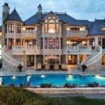 Three Story Mansion Pool Dream Homes Pinterest Houses