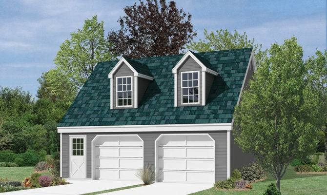 Tiara Car Garage Loft Plan House Plans More