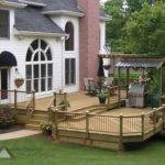 Tier Deck Tiered Bbq Shed Atlanta Decking Fence
