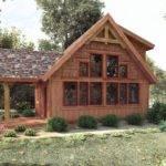 Timber Frame Cabin Plans Pre Designed Floor