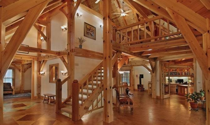 Timber Frame Home Designs Floor Plans Examples Great