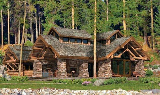 Timber Frame Log Home Floor Plans Precisioncraft