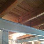 Timber Springs Lodge Plank Beam Ceiling
