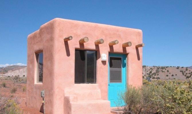 Tiny Adobe Casita House Design