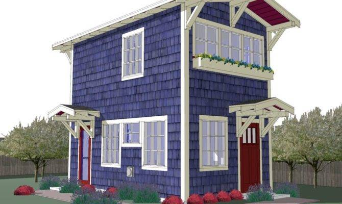 Tiny Backyard Cottage Plans