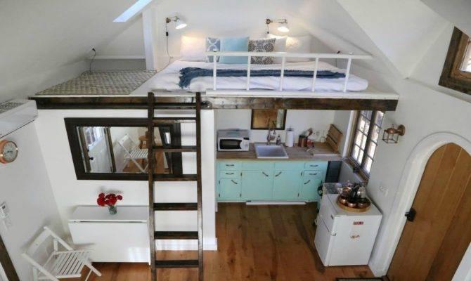 Tiny Home Energy Efficient Split Loft Bedrooms Small