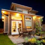 Tiny House Night Beautiful Homes Pinterest