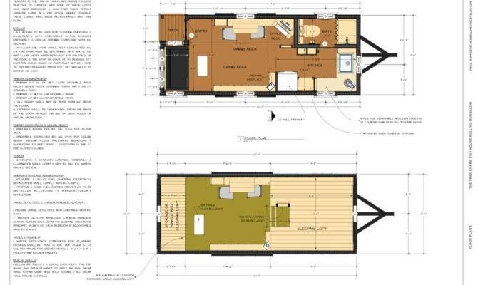 Tiny House Plan Pdf Small