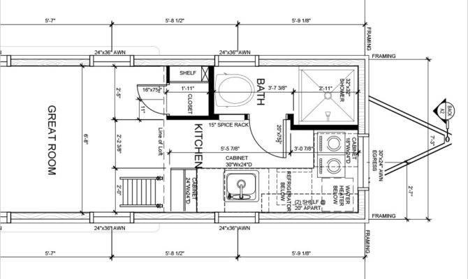 Tiny House Plans Tumbleweed Building
