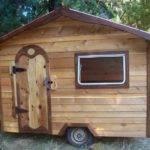 Tiny House Plans Wheels Wood Modern Design