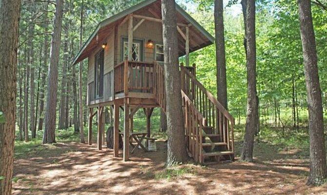 Tiny House River Stilts