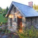 Tiny House Stone Henry Thoreau Cabin Replica Exterior