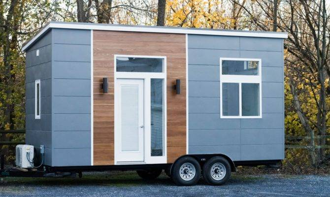 Tiny House Town Mid Century Modern Home