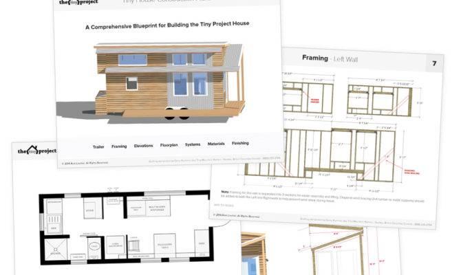 Tiny House Wheels Floor Plans Pdf Construction