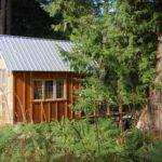Tiny Rustic Cabin Exterior Fiberglass Wall Small House Bliss