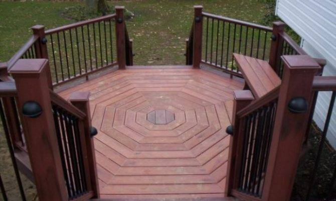 Tips Decorate Half Octagon Deck