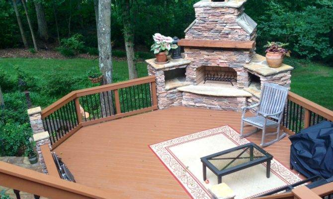 Today Decks Anything But Square Deck Design Ideas