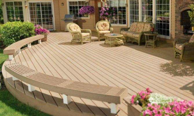 Top Deck Designs Ideas Diy Outdoor Home Improvements