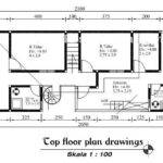 Top Floor Plan Drawings Consist Basic