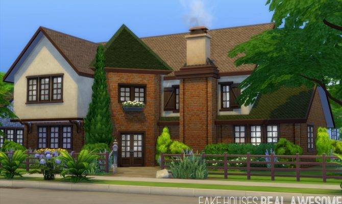 Top Photos Ideas Awesome Sims Houses House Plans